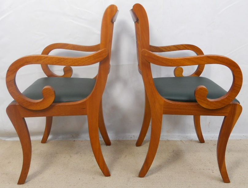 Set of Six Yew Dining Chairs by Beresford amp Hicks : set of six yew dining chairs by beresford hicks 5 3336 p from www.harrisonantiquefurniture.co.uk size 809 x 613 jpeg 190kB